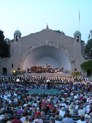 Toledo Zoo Amphitheatre Toledo Oh Chicago The Band