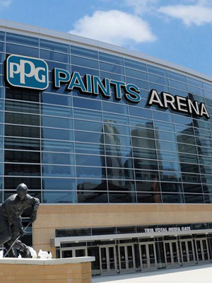 Ppg paints arena pittsburgh pa cast of impractical - Pittsburgh exterior paint reviews ...